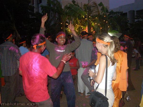 Веселые танцы...