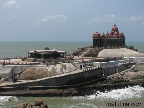 Храм Каньякумари и Мемориал Вивекананды
