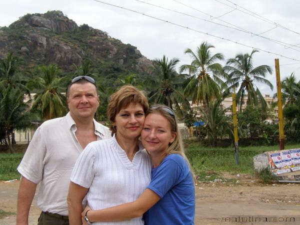 Мои любимые родители!